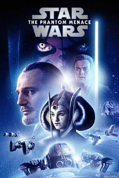 Star Wars: The Phantom Menace [Google Play HD] Transfers To Movies Anywhere, Vudu & iTunes
