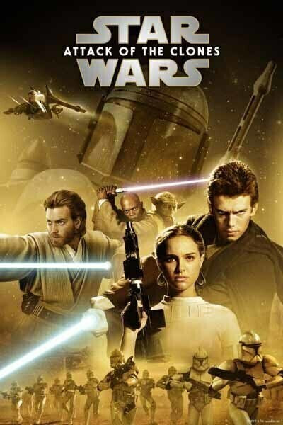 Star Wars: Attack of Clones [Google Play] Transfers To Movies Anywhere, Vudu and iTunes