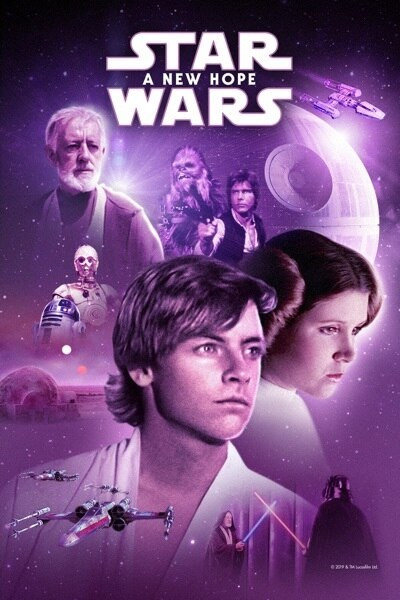 Star Wars A New Hope [Google Play HD] Transfers To Movies Anywhere, Vudu & iTunes