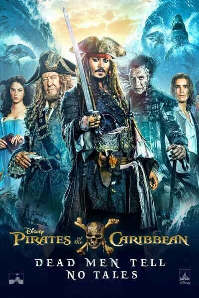 Pirates Of The Caribbean Dead Men Tell No Tales [Google Play] Transfers To Movies Anywhere, Vudu and iTunes