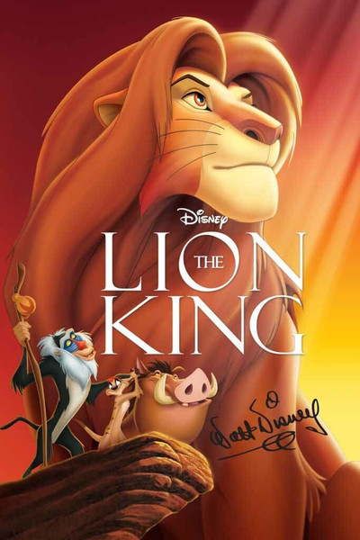 The Lion King [Google Play] Transfers To Movies Anywhere, Vudu and iTunes