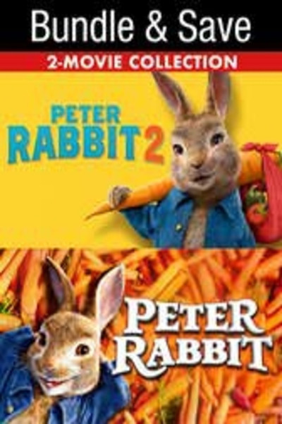 Peter Rabbit 2 Film Collection Bundle [Movies Anywhere HD, Vudu HD or iTunes HD via Movies Anywhere]