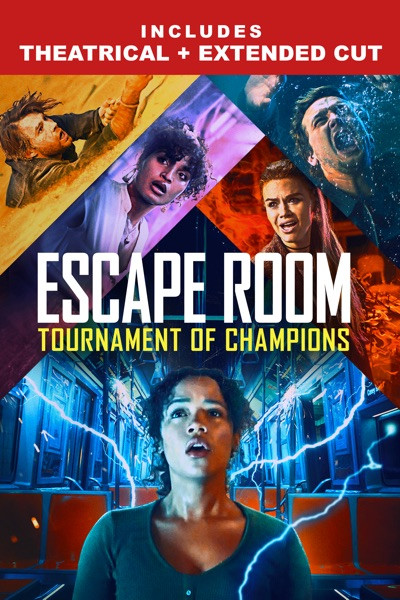 Escape Room 2: Tournament Of Champions [Movies Anywhere HD, Vudu HD or iTunes HD via Movies Anywhere]