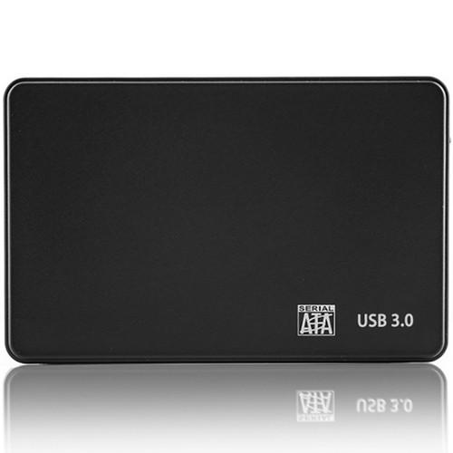 LUPO USB 3.0 SATA 2.5 inch Hard Disk Drive HDD External Caddy Case Enclosure - BLACK