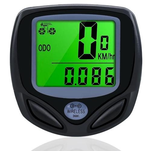 LUPO Weatherproof Wireless Bike Computer Speedo Odometer Cycle Bicycle (Average Speed/Maximum Speed)