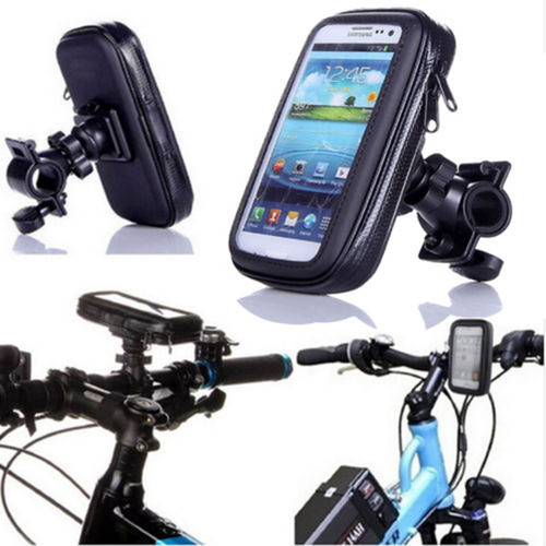 LUPO Universal Waterproof Motorbike Bicycle Mobile Phone Handlebar Holder Mount