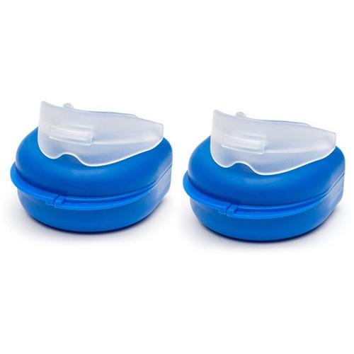2 x Dental Mouth Guard Teeth Grinding Bruxism Gum Shield Night Tray