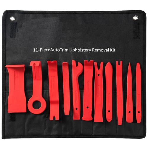 Car Door Trim Removal Tool Pry Panel Dash Radio Body Clip Installer Kit 11Pcs