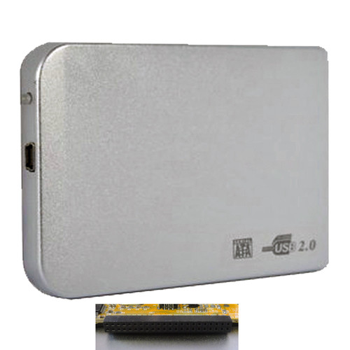 LUPO USB 2.0 IDE External 2.5 Inch Hard Drive HDD SSD Case Enclosure
