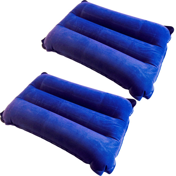 LUPO 2 Inflatable Air Camping Travel Pillows Cushions