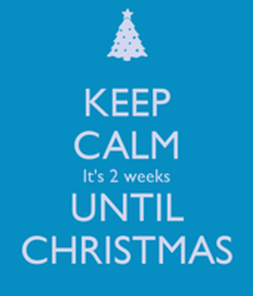 2 Weeks until Christmas - What to do to make life a little easier...