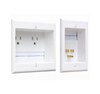 Powerbridge WM-2 Dual Outlet Recessed In-wall System