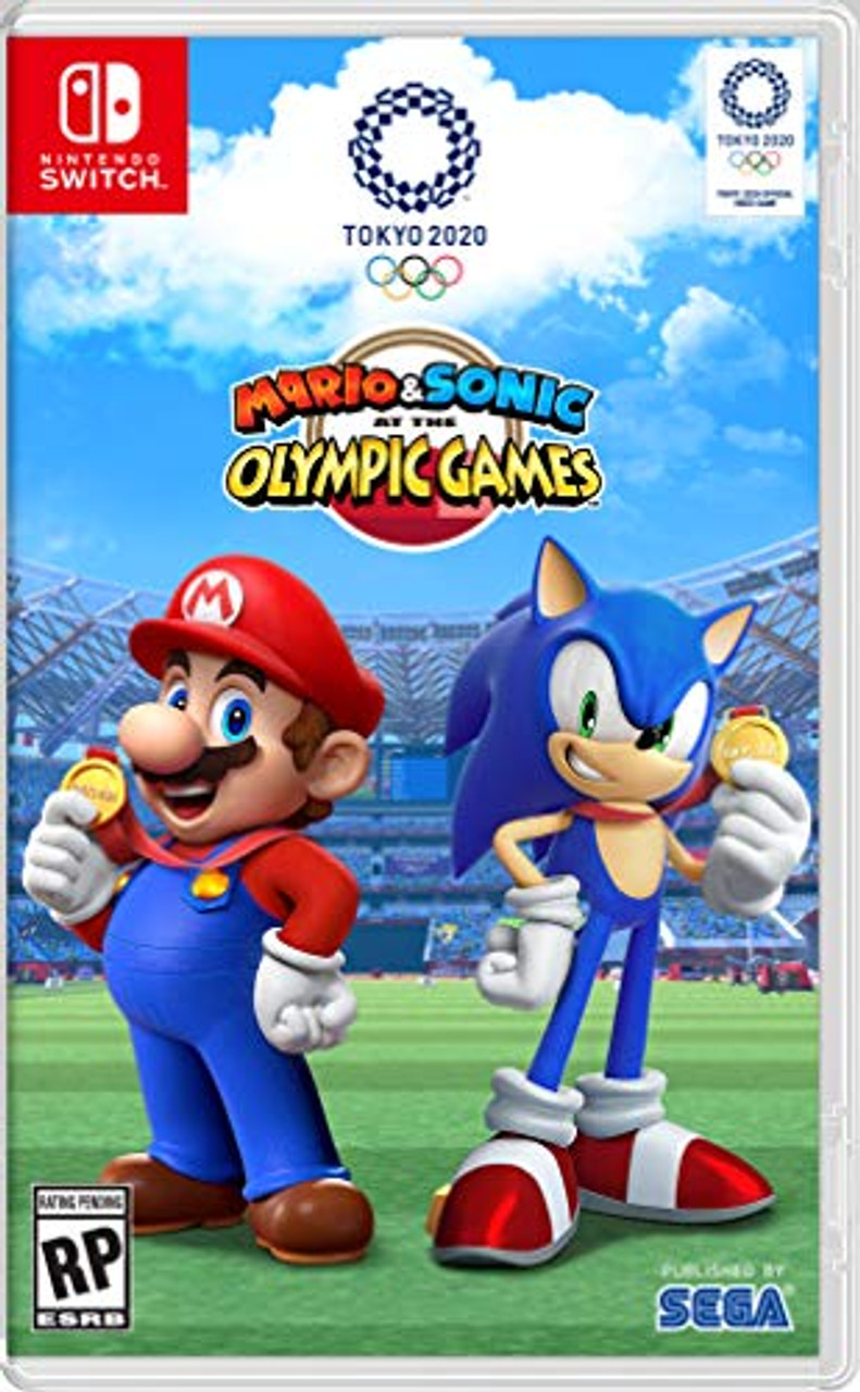 Switch Games 2020.Mario Sonic At The Olympic Games Tokyo 2020 Nintendo Switch
