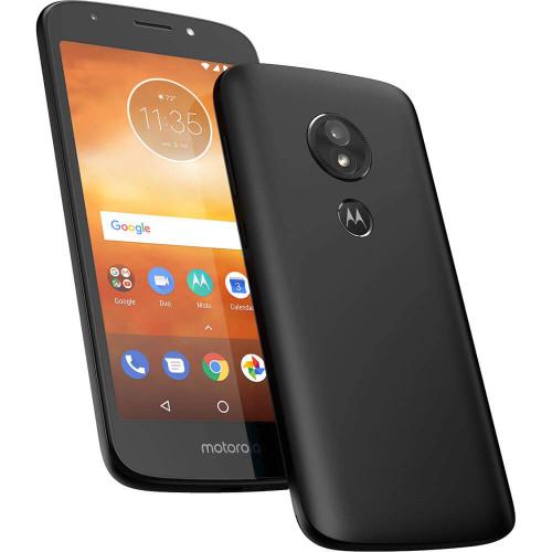 """Motorola Moto E5 Play Factory Unlocked 16GB Dual SIM 1GB RAM 4G LTE 5.3"""" LCD Display 8MP (Black)"""