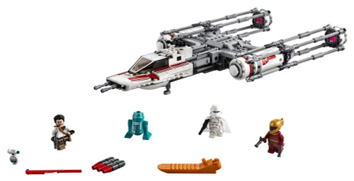 Lego Star Wars The Rise Of Skywalker Resistance Y Wing Starfighter 75249 New Advanced Collectible Starship