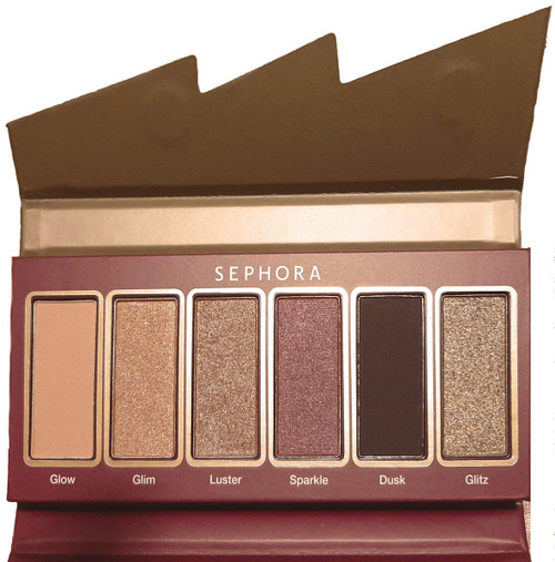 Sephora Collection Flash Sequin Miniature Palette 02 Brown Purple Very Lim. Edit.