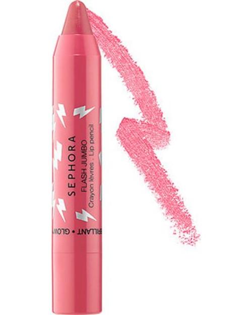 Sephora Collection flash jumbo brillant glowy Lip Pencil - #12 Speedy Coral .09oz. / 2.6g