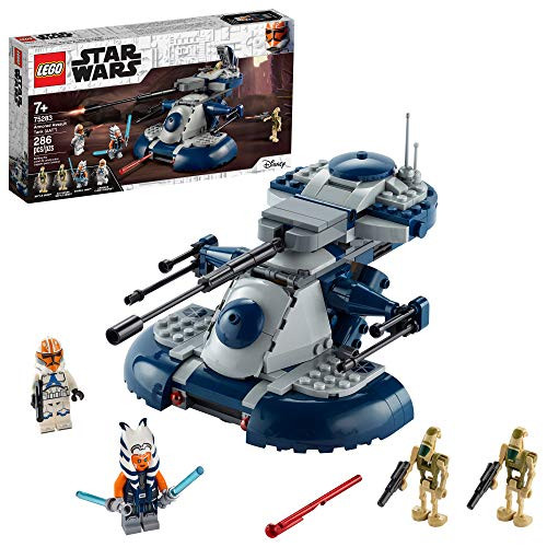 LEGO Star Wars: The Clone Wars Armored Assault Tank (AAT) 75283 Building Kit, Awesome Construction Toy for Kids with Ahsoka Tano Plus Battle Droid Action Figures (286 Pieces)