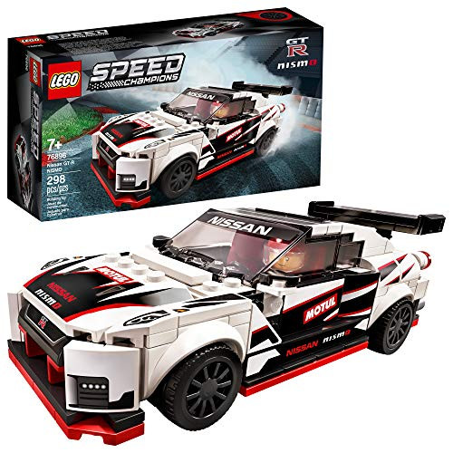 LEGO Speed Champions Nissan GT-R NISMO 76896 Toy Model Cars Building Kit Featuring Minifigure (298 Pieces)
