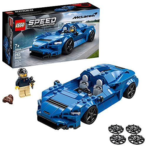 LEGO Speed Champions McLaren Elva 76902 Building Kit; Top Toy Car; Cool Toy for Kids; New 2021 (263 Pieces)