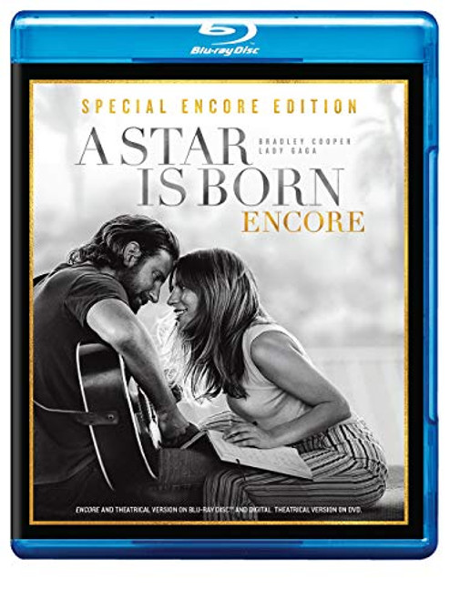 A Star Is Born Blu-Ray Disc