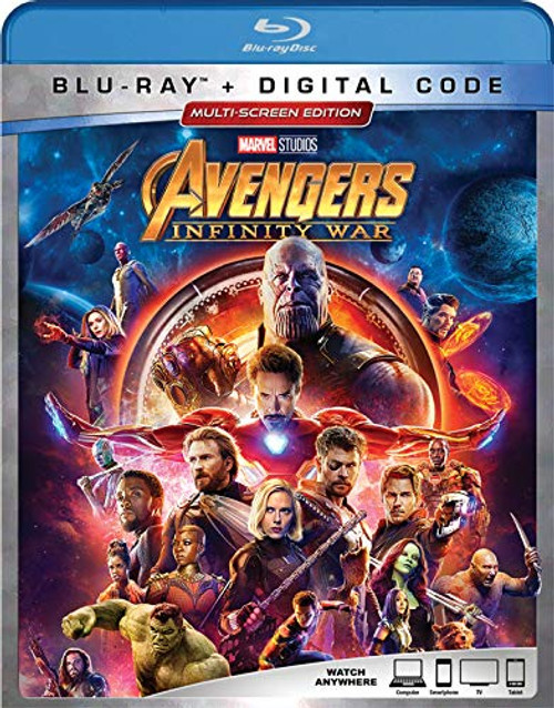 AVENGERS: INFINITY WAR Blu-ray Disc