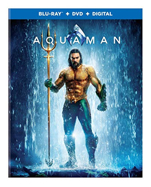 Aquaman Blu-ray Disc