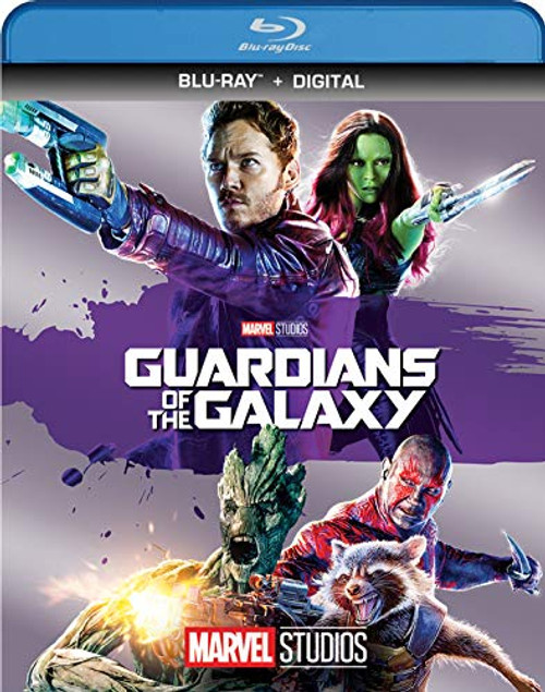 GUARDIANS OF THE GALAXY Blu-ray Disc