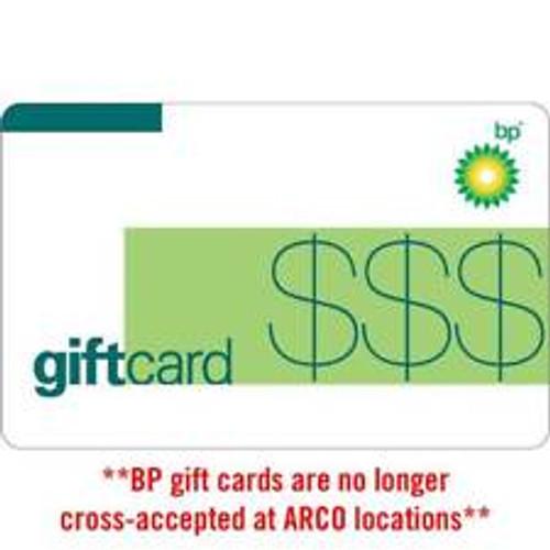 BP Gas $100 Gift Card