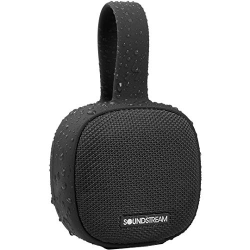 Soundstream h2GO IPX7 Waterproof Portable Bluetooth Speaker - Black