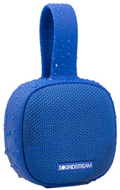 Soundstream h2GO IPX7 Waterproof Portable Bluetooth Speaker - Blue