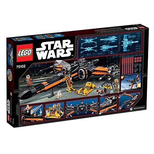 LEGO Star Wars Poe/'s X-Wing Fighter 75102