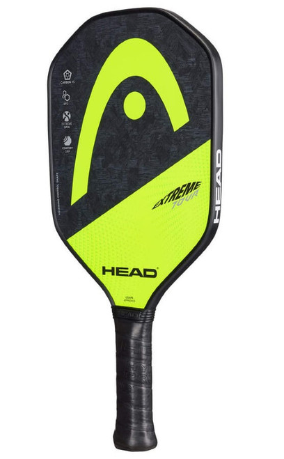 HEAD Extreme Tour Pickleball Paddle Grey / Lime Green