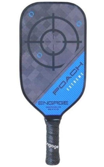 Engage Pickleball Poach Extreme Pickleball paddle Blue