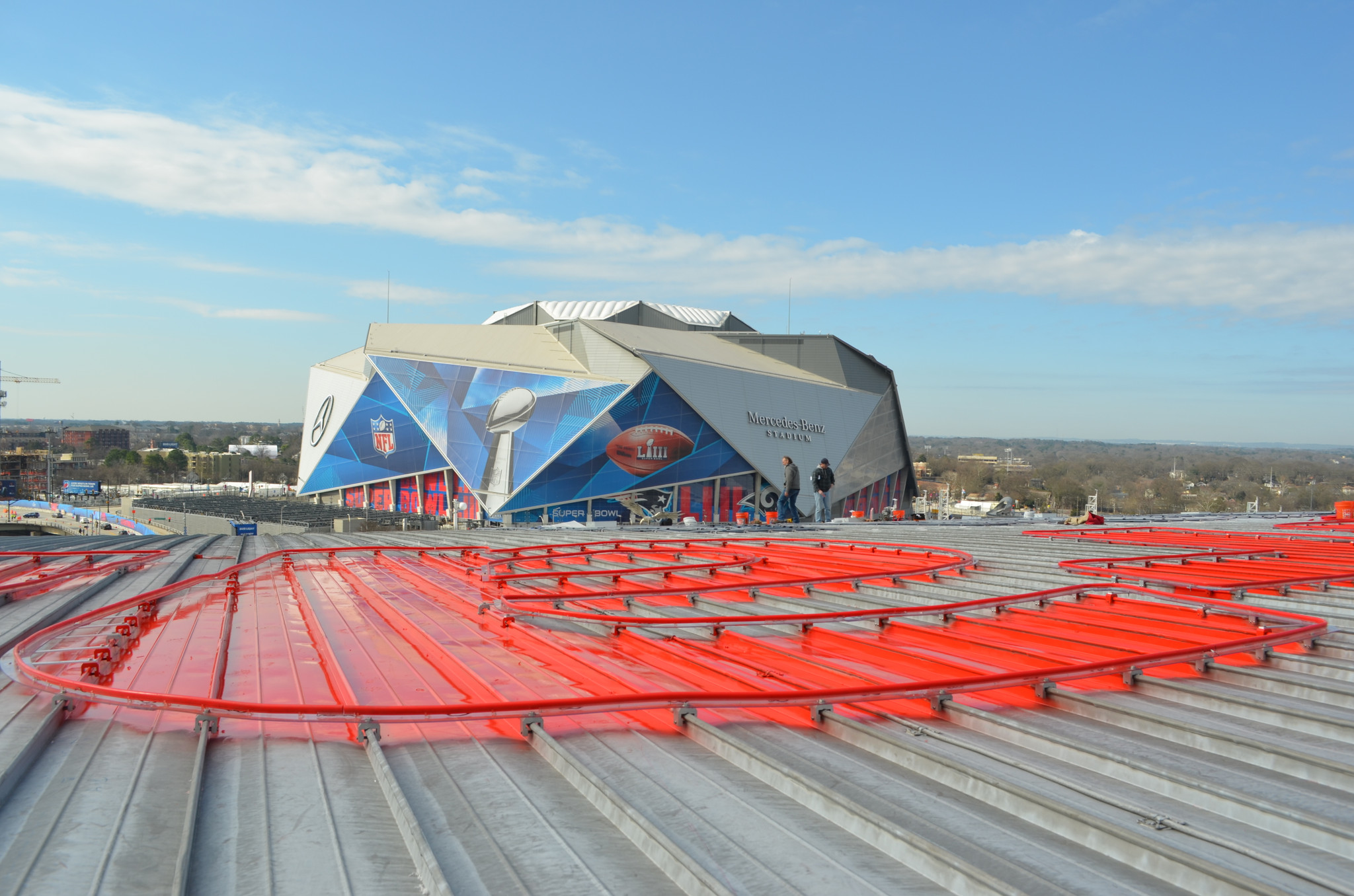 State Farm Arena Chooses Roof Clamp RCT