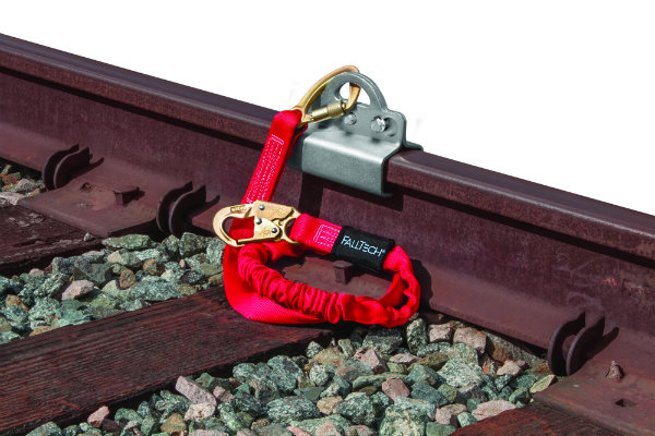 FallTech 7495A Rail Anchor - Available With or Without 12' Freefall Lanyard