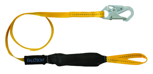 FallTech 8256LTL 6' FTBasic Soft Pack Single Leg w/ 1 Loop and 1 Snap Hook