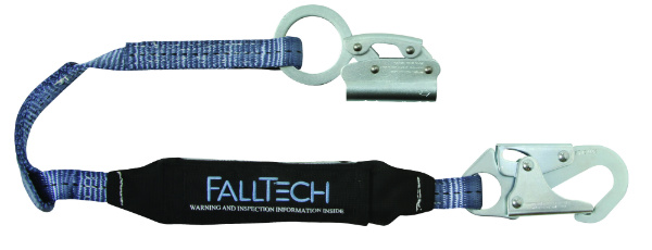 "FallTech 8353 Rope Grab/Lanyard Set for 5/8"" Rope, 1 Snap Hook"