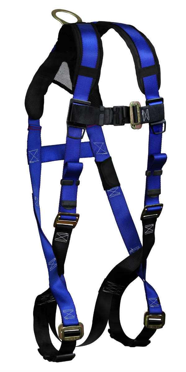 FallTech 7015BX-2X Contractor+ Harness, Non-Belted, 1 Dorsal D-Ring