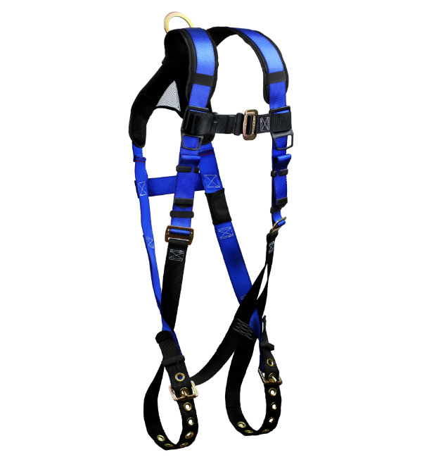 FallTech 7016B Contractor+ Harness, Non-Belted w/ 1 D-Ring, Available in 2 Sizes