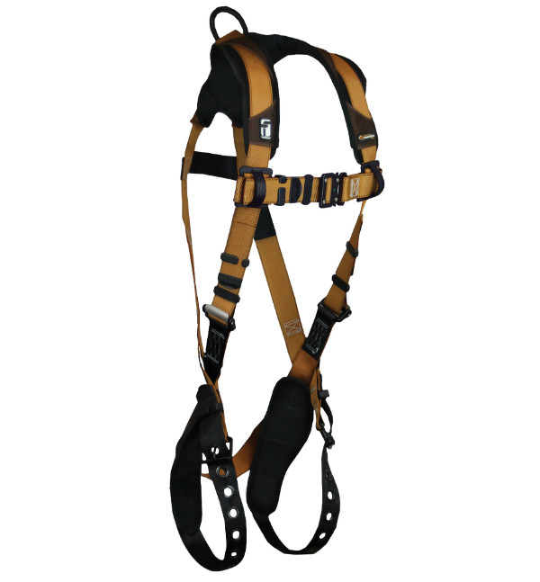 FallTech 7080B Premium Harness, 1 Dorsal D-Ring, Advanced ComforTech Gel, Non-Belted, Available in 4 Sizes