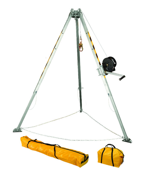 FallTech 7507 60' Tripod Kit - Available with Galvanized or Stainless Steel Cable