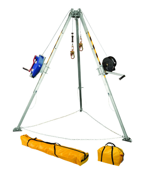 FallTech 7509 60' Tripod Kit with Galvanized Steel Cable