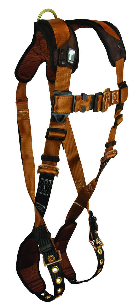 FallTech 7080 ComforTech Harness, Non-Belted, 1 Back D-Ring, Available in 4 Sizes.