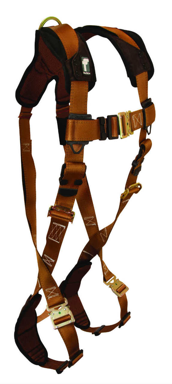 FallTech 7082 ComforTech Non-Belted Harness, 1 Back D-Ring, Quick Connect Legs and Chest.  Available in 4 Sizes.