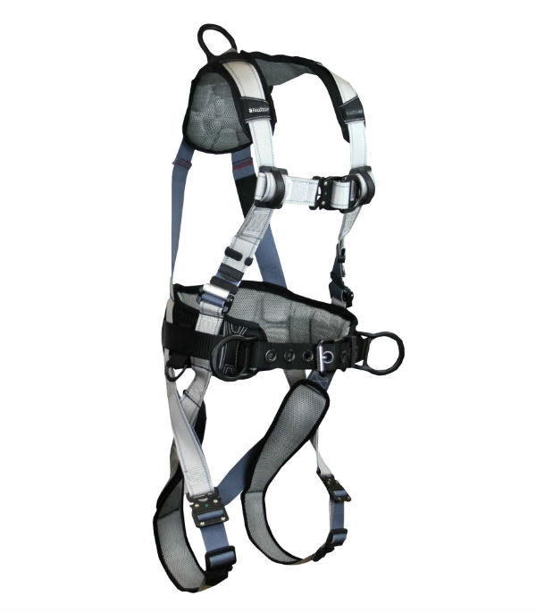 FallTech 7089BFD FlowTech LTE Climbing Construction Harness, Available in 4 Sizes.