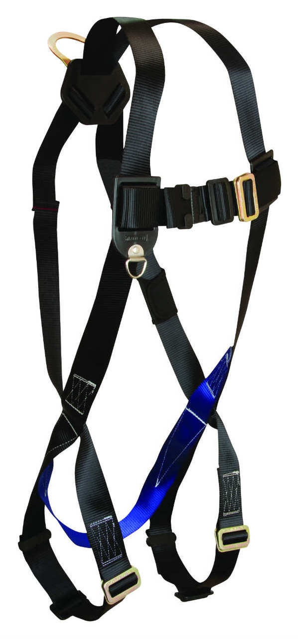 FallTech 7007 FT Basic Standard, Non-Belted Harness, 3 Points of Adjustment, Available in 4 Sizes.