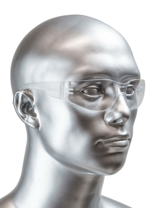 Malta SG1012 Clear Frame Safety Glasses (12 Pack)