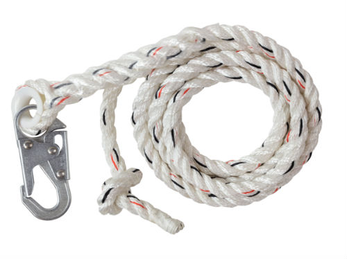 Malta C7052 25' Vertical Lifeline w/ Snap Hook