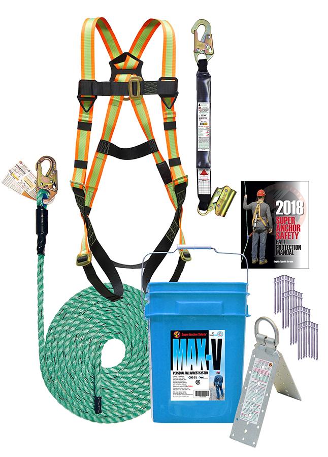 Super Anchor 3200-50-US 50' Safety Kit